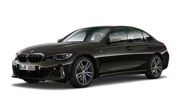 Leaked BMW 3 Series - front black 3