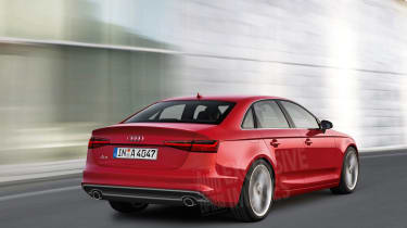 Audi A4 2015 exclusive pic - rear