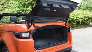 Range Rover Evoque Convertible - boot