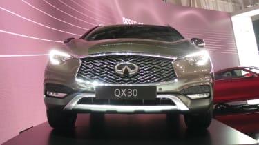 Infiniti QX30 Geneva - front