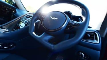 Aston Martin DBS Superleggera - steering wheel