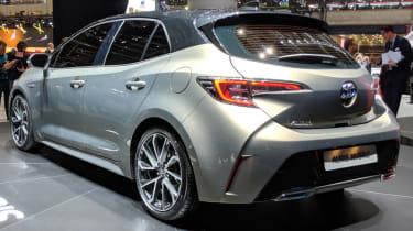 New Toyota Auris rear