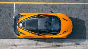 McLaren 720S Track Pack - above