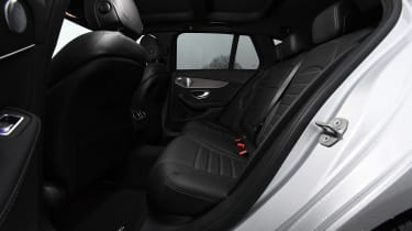 Mercedes C-Class Estate - rear seats