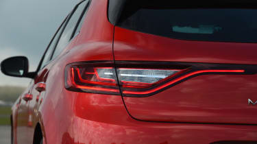 Renault Megane diesel - tail light