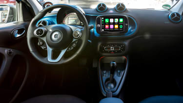 Smart EQ ForFour - dash