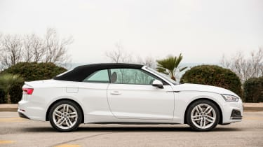 Audi A5 Cabriolet - roof up