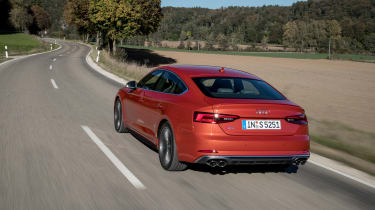 Audi S5 Sportback - rear action