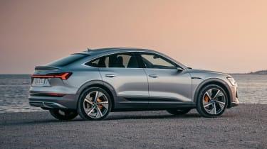 Audi e-tron Sportback - rear static