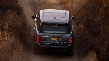 New Range Rover PHEV 2017 review - tail lights