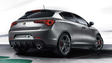 Alfa Romeo Giulietta QV 2014 rear