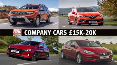 Company cars £15K-£20K - header