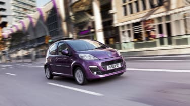 Peugeot 107 - front shot