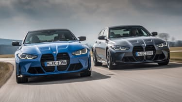 BMW M3 and M4 Competition xDrive - front action