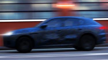 Maserati Grecale teaser - side