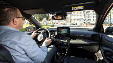 2020 Toyota Yaris - John McIIroy driving