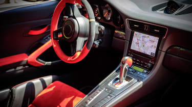 Porsche GT2 RS prototype - dash