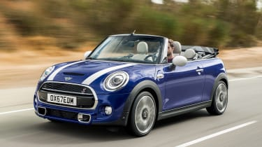 MINI Convertible - front