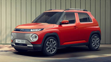Hyundai Casper - front