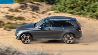 Mercedes GLC - side off-road