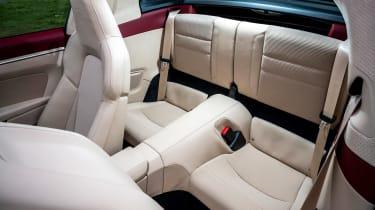 Porsche 911 Targa 4S Heritage Design Edition - rear seats
