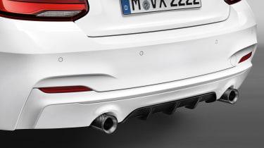 BMW M240i M Performance Edition - rear bumper