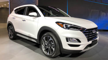 Hyundai Tucson - New York front