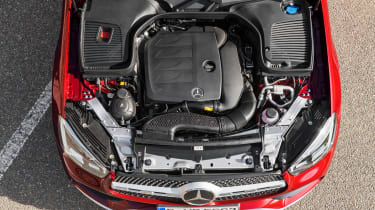 Mercedes GLC Coupe - engine