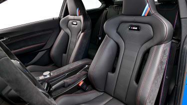 BMW M2 CS - front seats
