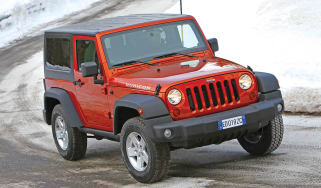 Jeep Wrangler corner