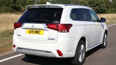 New 2019 Mitsubishi Outlander PHEV rear