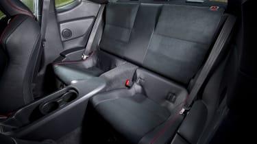 Subaru BRZ - rear seats