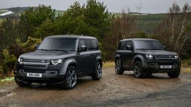 Land Rover Defender V8 range