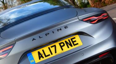 Alpine A110 - rear detail