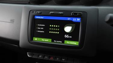 Dacia Duster - infotainment