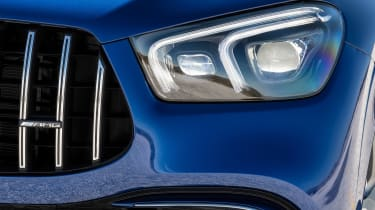 Mercedes-AMG GLE 63 S - front light