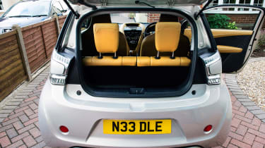 Searching for the Aston Martin Cygnet - boot