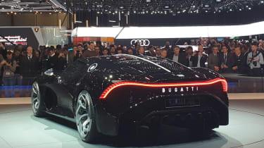 Bugatti La Voiture Noire - Geneva rear static