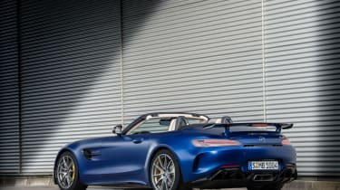 Mercedes-AMG GT R Roadster - rear roof down