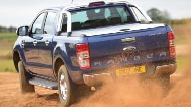 Ford Ranger - off road rear