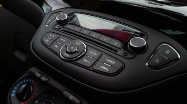 Vauxhall Corsa - centre console
