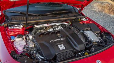 Mercedes-AMG CLA 45 S - engine