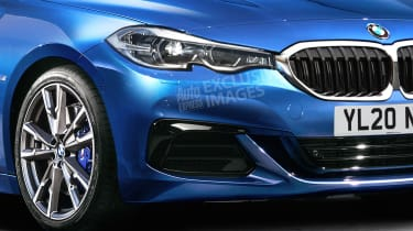 BMW 2 Series Gran Coupe - front detail (watermarked)
