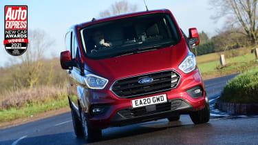 Ford Transit Custom - New Car Awards 2021