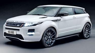 Range Rover Evoque Sport front three-quarters
