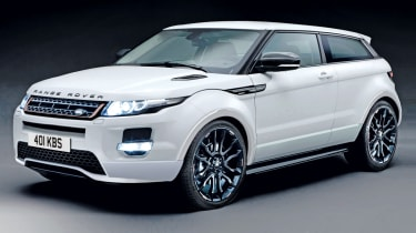 Range Rover Evoque Sport front three-quarters