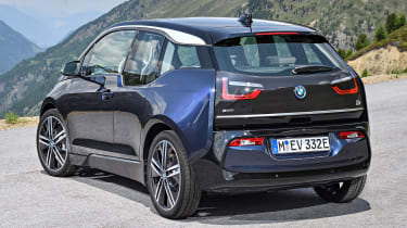 BMW i3 facelift - rear