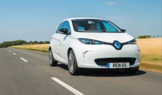 Renault Zoe 2015 front