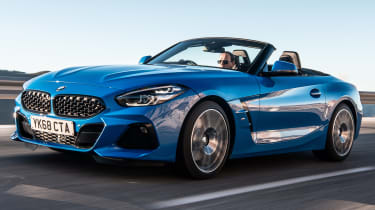 BMW Z4 - front tracking