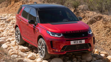 Land Rover Discovery Sport - front off-road